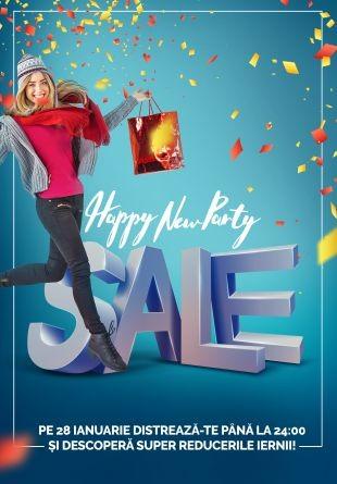 Happy New Sale: primul sezon de reduceri începe la Shopping City Piatra Neamț