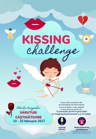 """Acceptă provocarea """"Kissing Challenge"""" și câștigă premii!"""