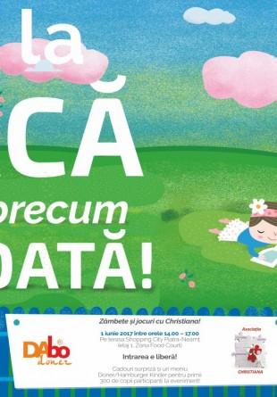 Sărbătorește Ziua Copilului la Shopping City Piatra-Neamț!
