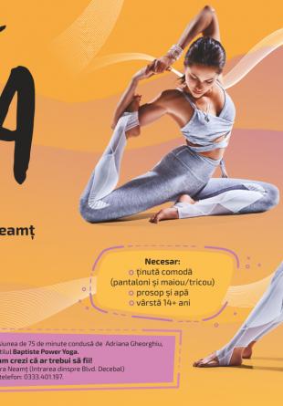 De ce să vii la Yoga pe terasa Shopping City Piatra-Neamț?