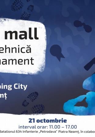 Armata la mall | Expoziție de tehnică militară și armament la Shopping City Piatra-Neamț