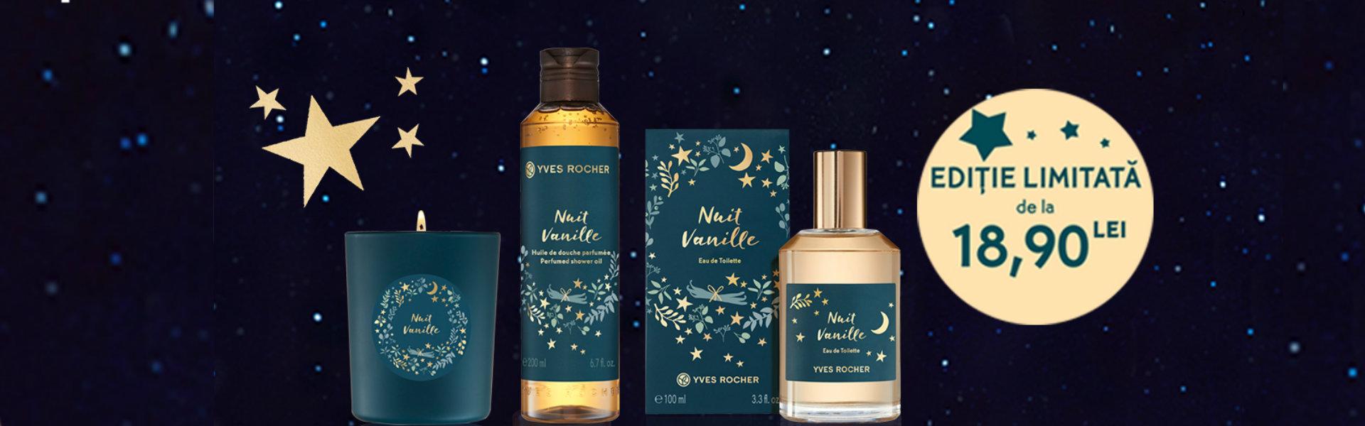Imagini pentru yves rocher nuit vanille